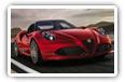 Alfa Romeo 4C cars desktop wallpapers 4K Ultra HD
