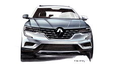 Renault Koleos car sketch wallpapers 4K Ultra HD