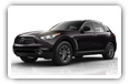 Infiniti QX70 cars desktop wallpapers 4K Ultra HD