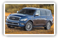 Infiniti QX80 cars desktop wallpapers 4K Ultra HD