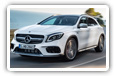 Mercedes-Benz GLA-class cars desktop wallpapers 4K Ultra HD
