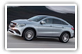 Mercedes-Benz GLE-class Coupe cars desktop wallpapers 4K Ultra HD