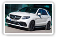 Mercedes-Benz GLE-class cars desktop wallpapers 4K Ultra HD