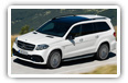 Mercedes-Benz GLS-class cars desktop wallpapers 4K Ultra HD