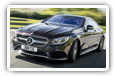 Mercedes-Benz S-class Coupe cars desktop wallpapers 4K Ultra HD