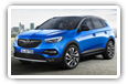 Opel Grandland X cars desktop wallpapers 4K Ultra HD