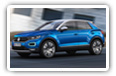 Volkswagen T-Roc cars desktop wallpapers 4K Ultra HD