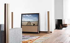 Bang & Olufsen BeoVision 10 46 Chanterelle with BeoLab 6002 Chanterelle wallpapers 4K Ultra HD