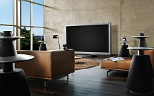 Bang & Olufsen BeoVision 4 103 with 3D feature wallpapers 4K Ultra HD
