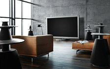 Bang & Olufsen BeoVision 4 103 with BeoLab 5 and BeoSound 5 wallpapers 4K Ultra HD