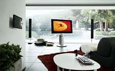 Bang & Olufsen BeoVision 7 40 3D with BeoLab 8002 and BeoSound 5 Encore and Beo6 wallpapers 4K Ultra HD