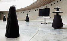 Bang & Olufsen BeoVision 7 40 with BeoLab 7 2 and BeoLab 5 and BeoLab 9 wallpapers 4K Ultra HD