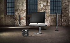 Bang & Olufsen BeoVision 7 40 with BeoLab 7 2 and BeoLab 8000 and BeoLab 2 sub woofer wallpapers 4K Ultra HD