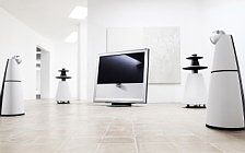 Bang & Olufsen BeoVision 9 with BeoLab 5 and BeoLab 9 wallpapers 4K Ultra HD