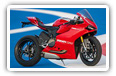 Ducati Superbike 1199 Panigale motorcycles desktop wallpapers 4K Ultra HD