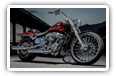 Harley-Davidson CVO motorcycles desktop wallpapers 4K Ultra HD