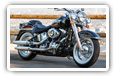 Harley-Davidson Softail motorcycles desktop wallpapers 4K Ultra HD